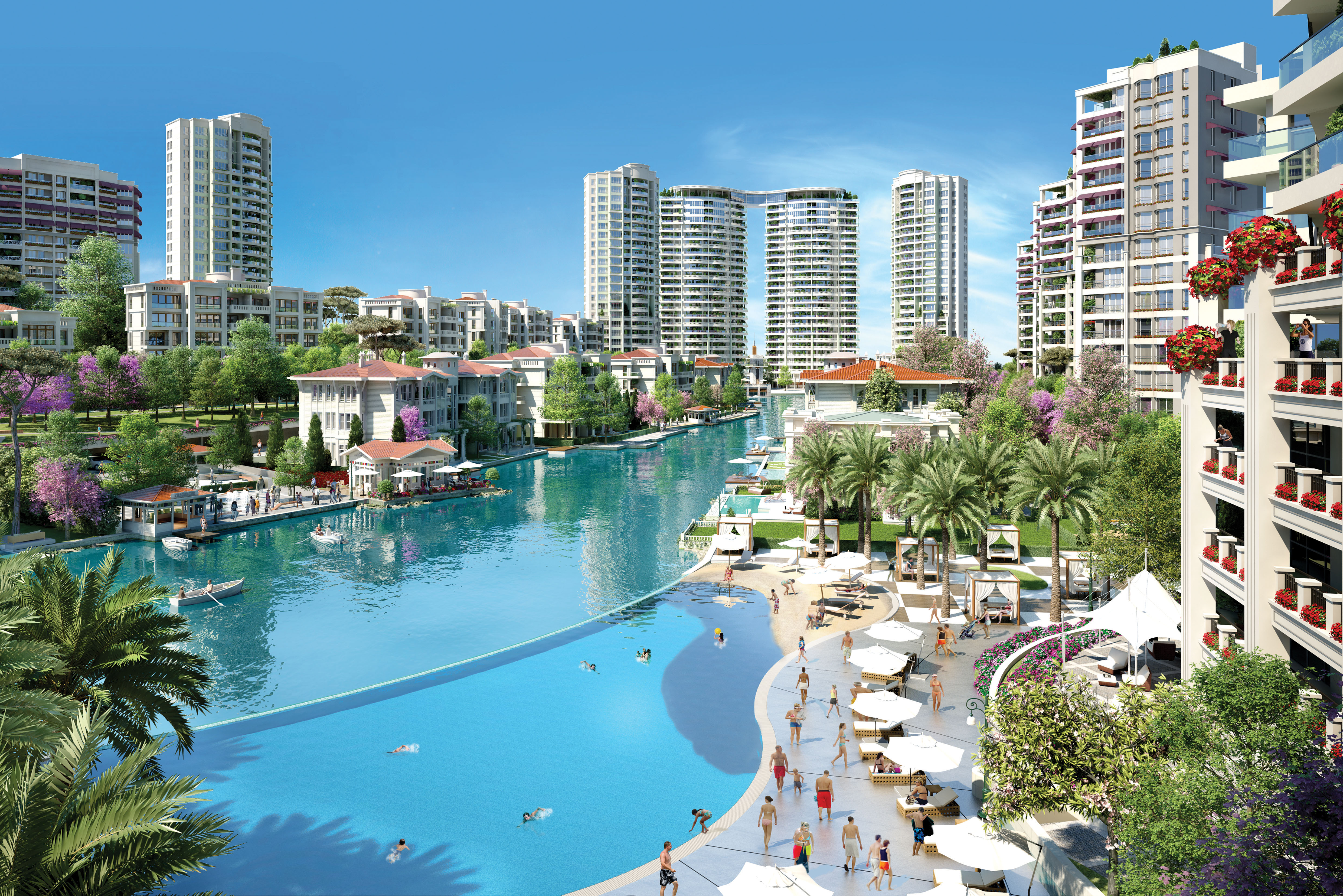 New Luxury Waterfront Apartments In Istanbul For Sale